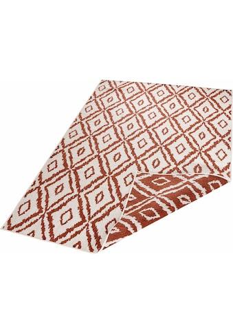 bougari Teppich »Rio«, rechteckig, 5 mm Höhe, Wendeteppich, Rauten Design, In- und... kaufen