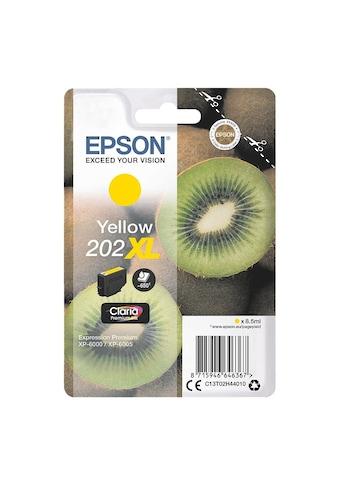 Epson Tintenpatrone Singlepack yellow kaufen