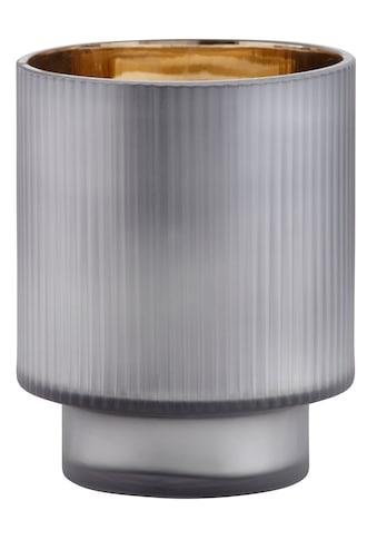 Leonique Windlicht »Aubree«, aus Glas, mit Innen-Verspiegelung kaufen