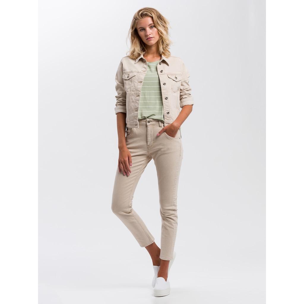 Cross Jeans® T-Shirt »55741«, Legeres Shirt mit Streifen