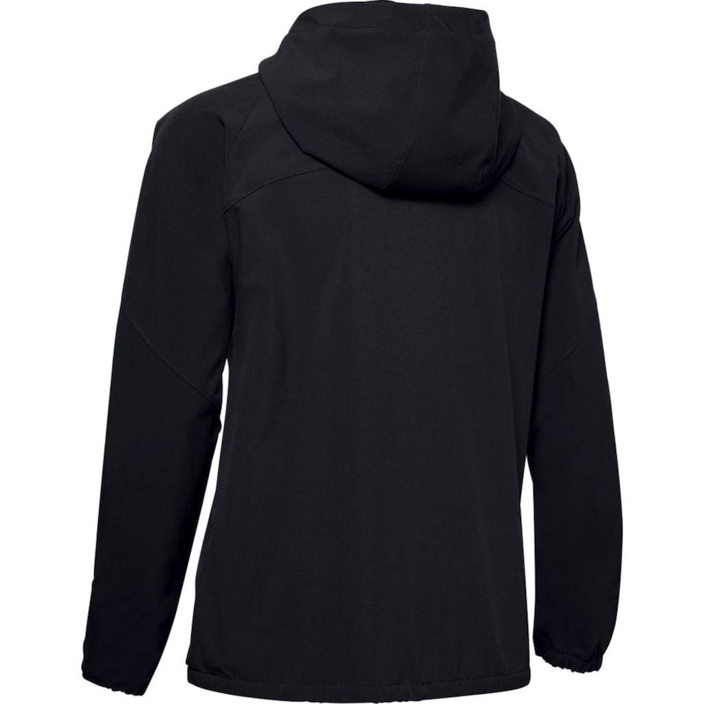 Under Armour® Kapuzensweatjacke »Woven Hooded Jacket«