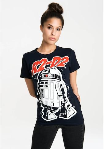 LOGOSHIRT T-Shirt »R2-D2«, mit lizenzierten Originaldesign kaufen