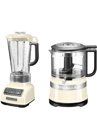 KitchenAid Standmixer 5KSB1585EAC und Mini Zerkleinerer 5KFC3516, 550 Watt kaufen