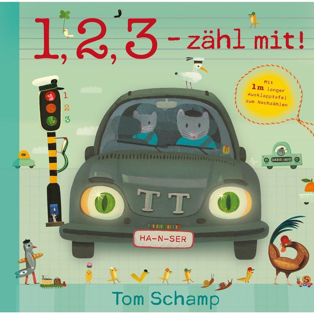 Buch »1, 2, 3 - zähl mit! / Tom Schamp, Saskia Heintz«