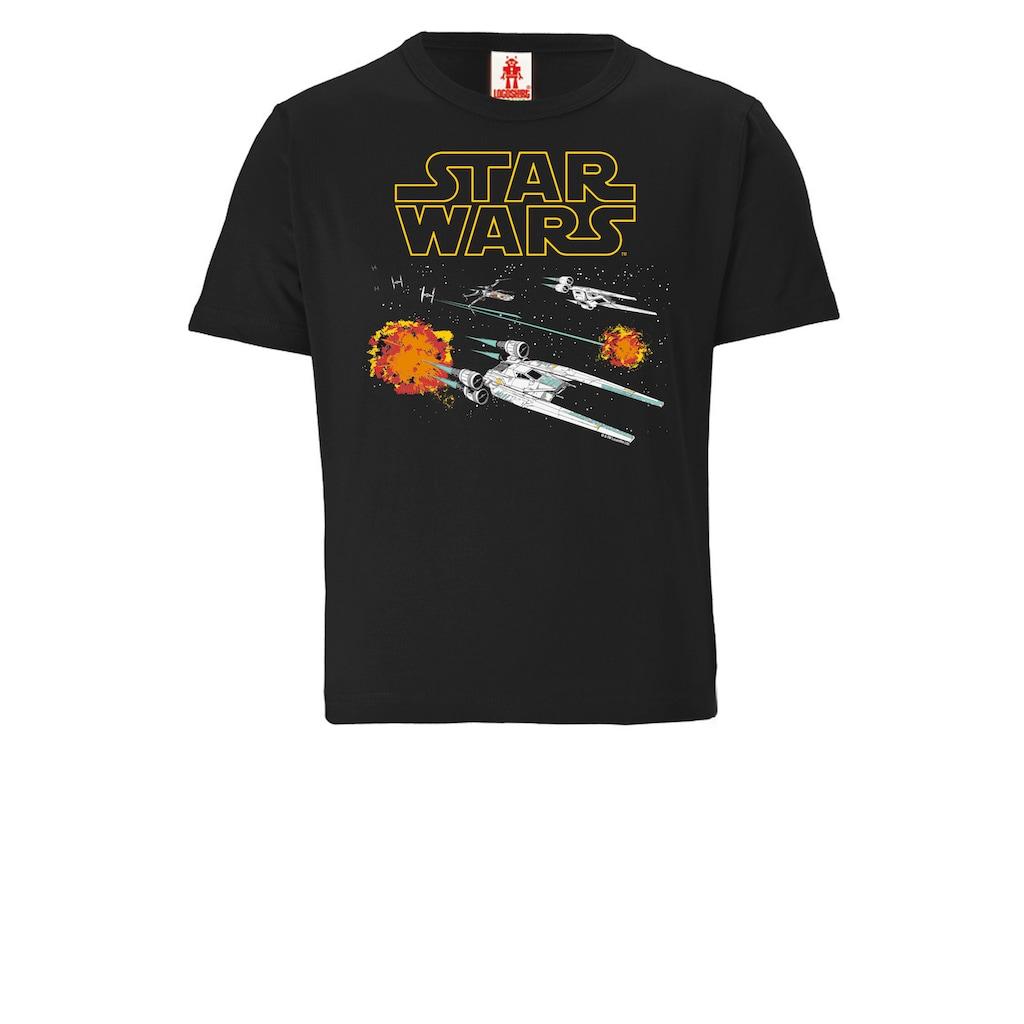 LOGOSHIRT T-Shirt, mit coolem Star Wars-Motiv