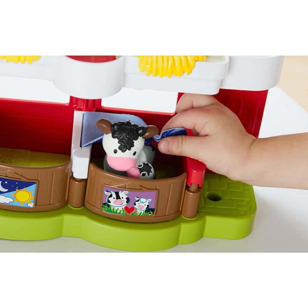 Fisher-Price® Lernspielzeug »Little People - Bauernhof«, mit Soundeffekt