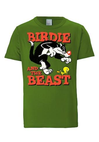 LOGOSHIRT T-Shirt »Sylvester & Tweety«, mit lizenziertem Originaldesign kaufen