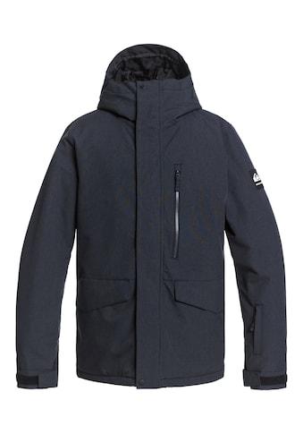 Quiksilver Snowboardjacke »Mission Solid« kaufen