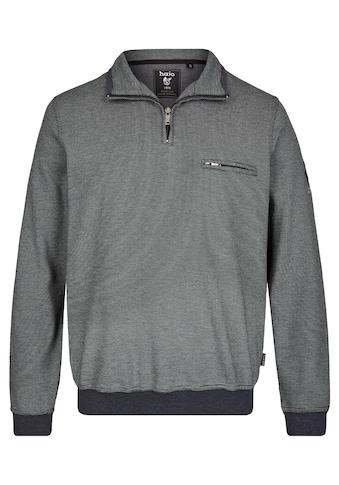 Hajo Sweatshirt, in Dreitonoptik kaufen