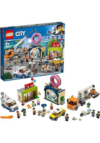 "LEGO® Konstruktionsspielsteine ""Große Donut - Shop - Eröffnung (60233), LEGO® City"", Kunststoff, (790 - tlg.) kaufen"
