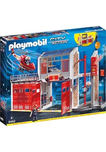 """Playmobil® Konstruktions - Spielset """"Große Feuerwache (9462), City Action"""", Kunststoff kaufen"""