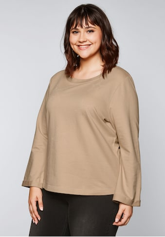 Sheego Sweatshirt, in A-Linie kaufen