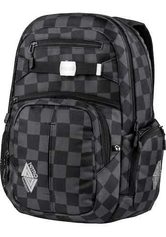 NITRO Schulrucksack »Hero Black Checker« kaufen