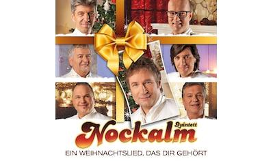 Musik - CD Ein Weihnachtslied Das Dir / Nockalm Quintett, (1 CD) kaufen