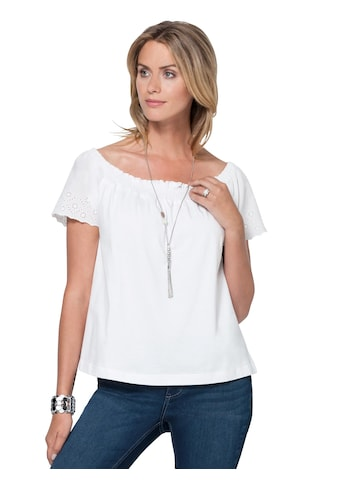 Ambria Shirt mit zarter Madeira - Stickerei kaufen