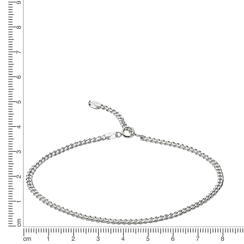 Zeeme Fußkette »925/- Sterling Silber 23-26cm«