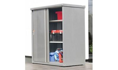 WOLFF FINNHAUS Geräteschrank »135 - Set«, BxTxH: 132x58x140 cm, mit 2 Einlegeböden kaufen