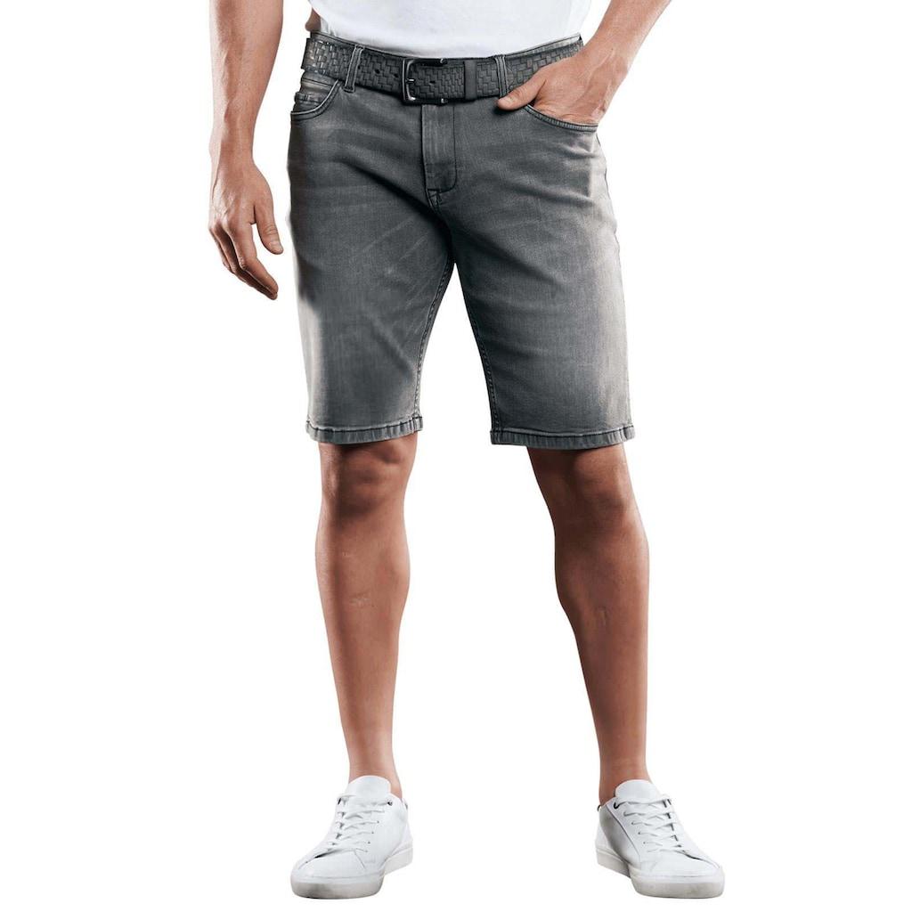 Engbers High Stretch Denim Shorts mit modernen Wascheffekten