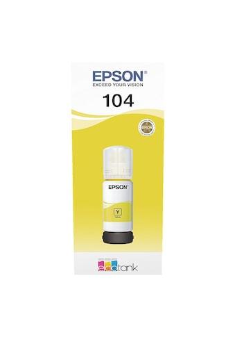 Epson Tintenpatrone »EcoTank C13T00P440« kaufen