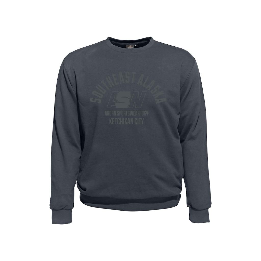 AHORN SPORTSWEAR Sweatshirt mit Frontprint