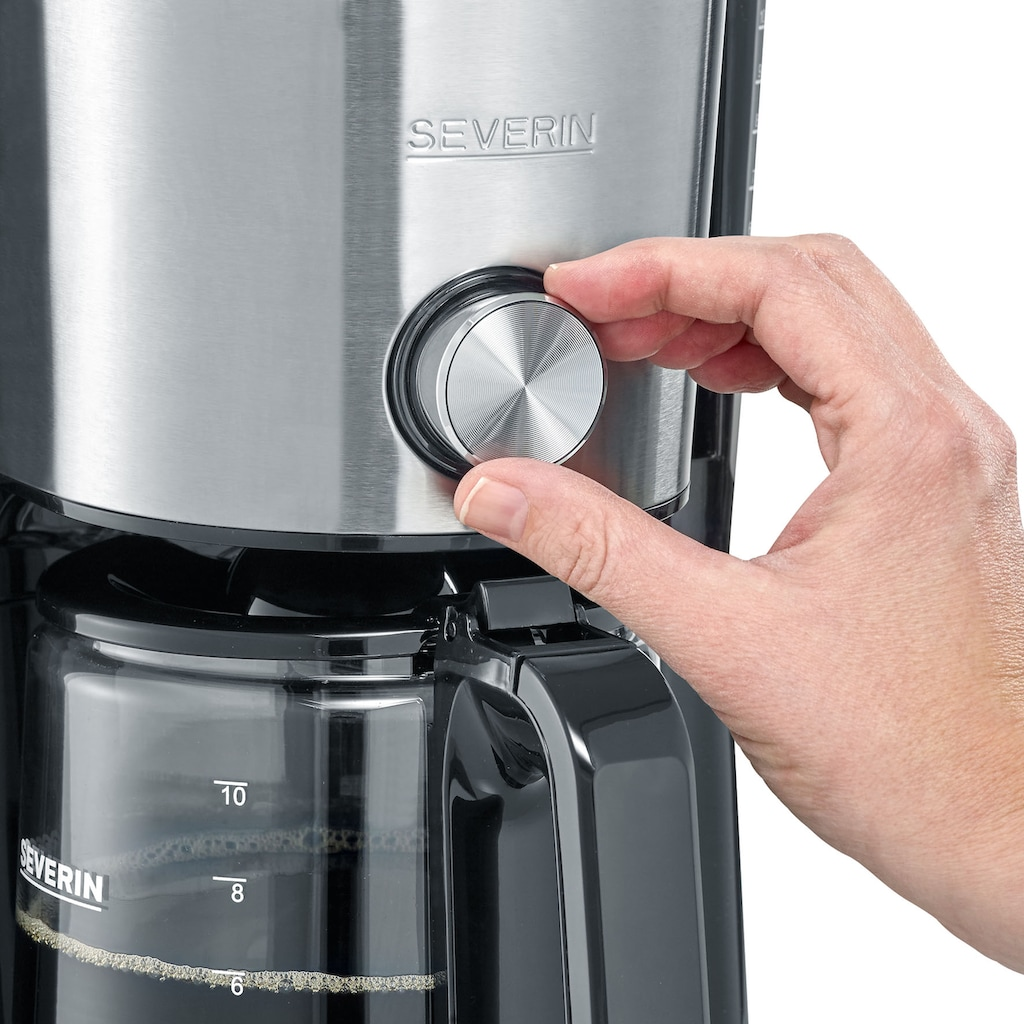 Severin Filterkaffeemaschine »KA 4825«, Papierfilter, 1x4