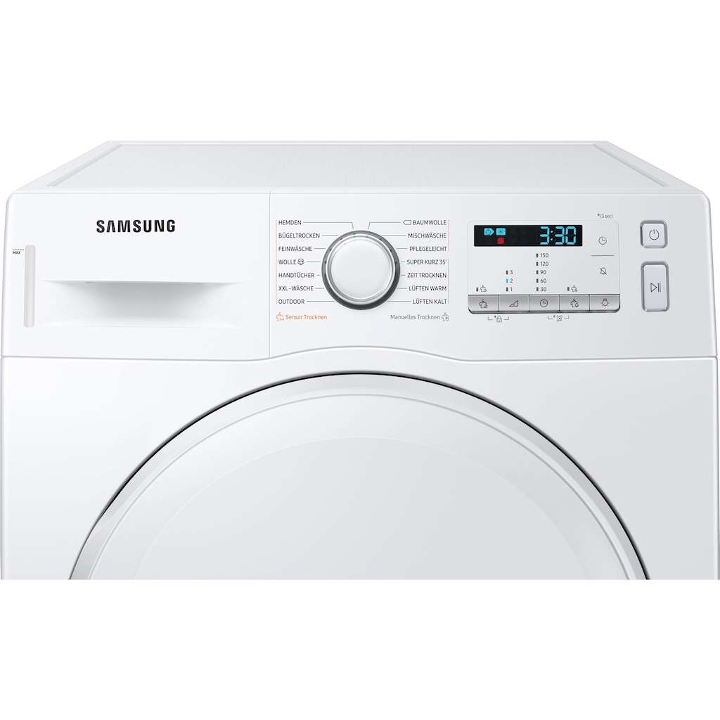 Samsung Wärmepumpentrockner »DV9FTA040DW/EG«, 9 kg, Knitterschutz
