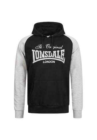 Lonsdale Kapuzensweatshirt, mit Markenprint kaufen