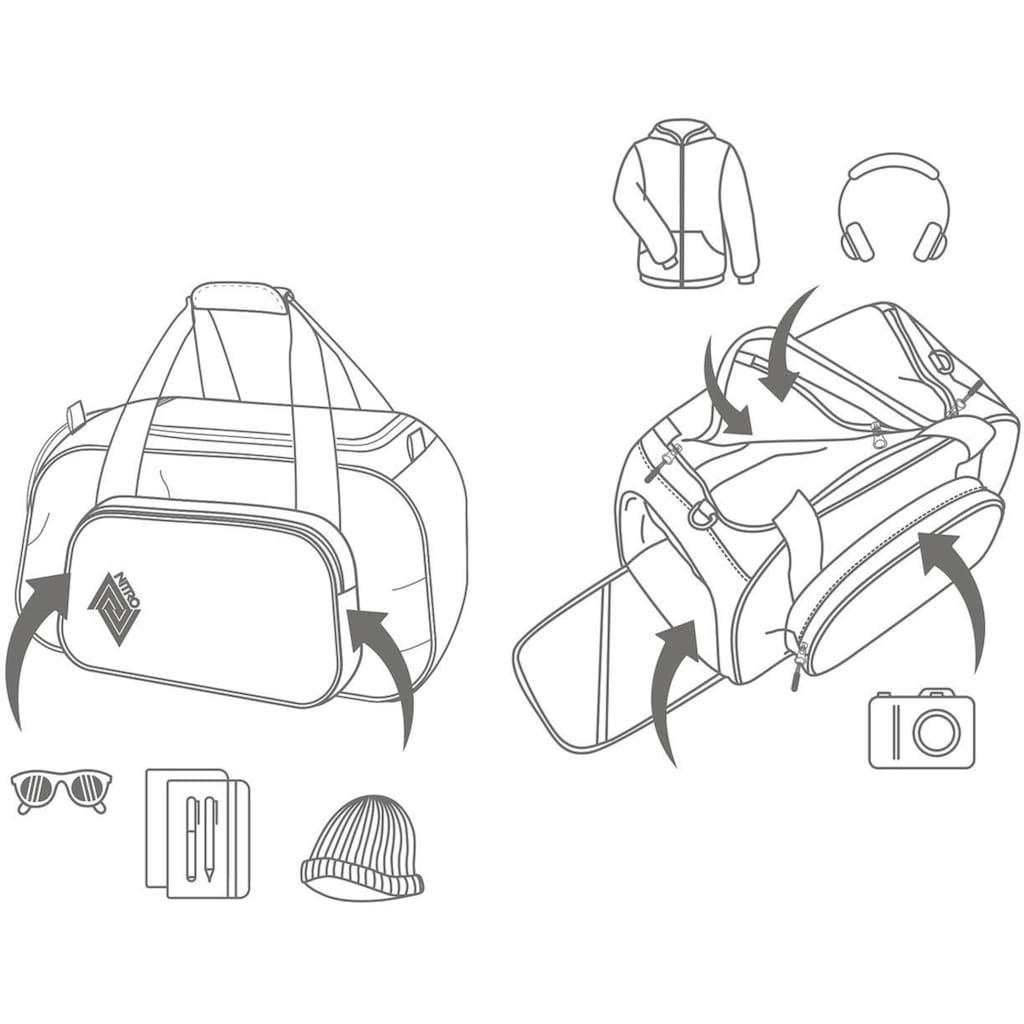 NITRO Sporttasche »Duffle Bag XS, Indigo«