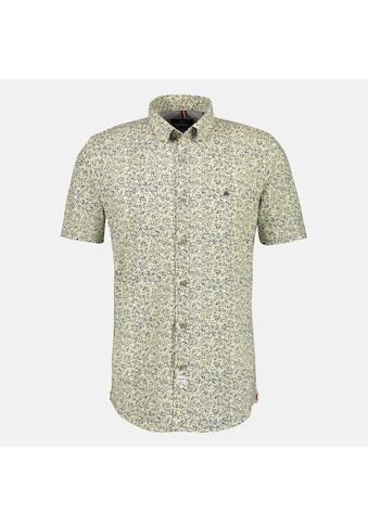 LERROS Kurzarmhemd, mit Minimalprint und Button-Down-Kragen kaufen