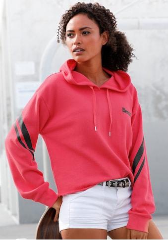 Bench. Kapuzensweatshirt, in kurzer Form kaufen