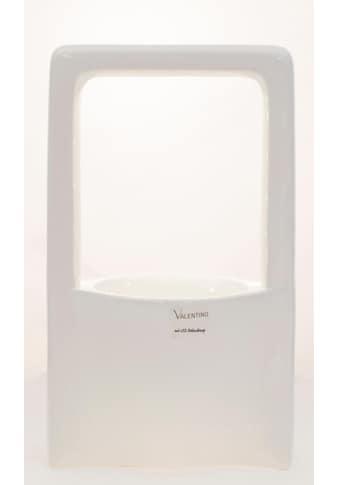 VALENTINO Wohnideen Pflanzschale »Malibu«, mit LED Beleuchtung, Höhe ca. 33 cm kaufen