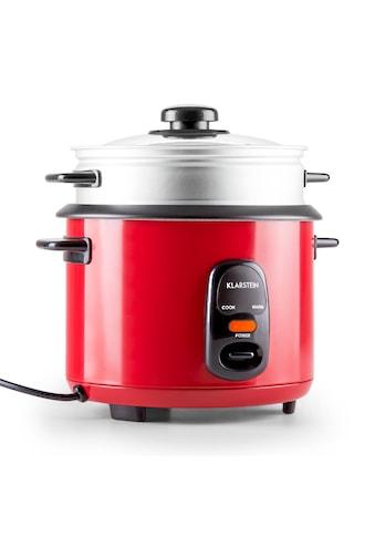 Klarstein Reiskocher Warmhaltefunktion Dampfkorb Dampfgareinsatz 1,5Liter »Osaka 1.5... kaufen
