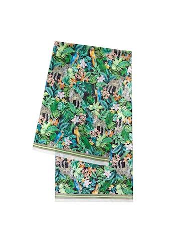Codello Schal, aus reiner Seide mit Dschungel-Print kaufen