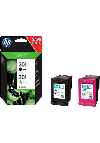 HP Tintenpatrone »hp 301 / N9J72AE Kombi-Pack« kaufen