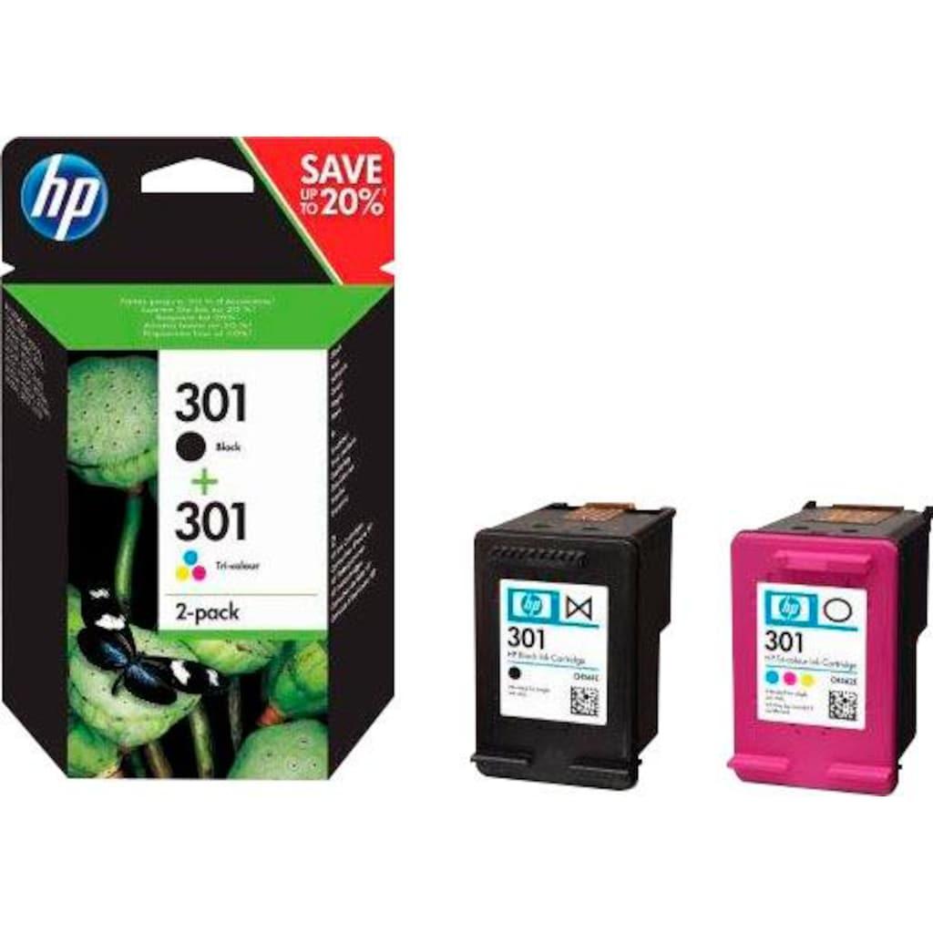 HP Tintenpatrone »hp 301 / N9J72AE Kombi-Pack«