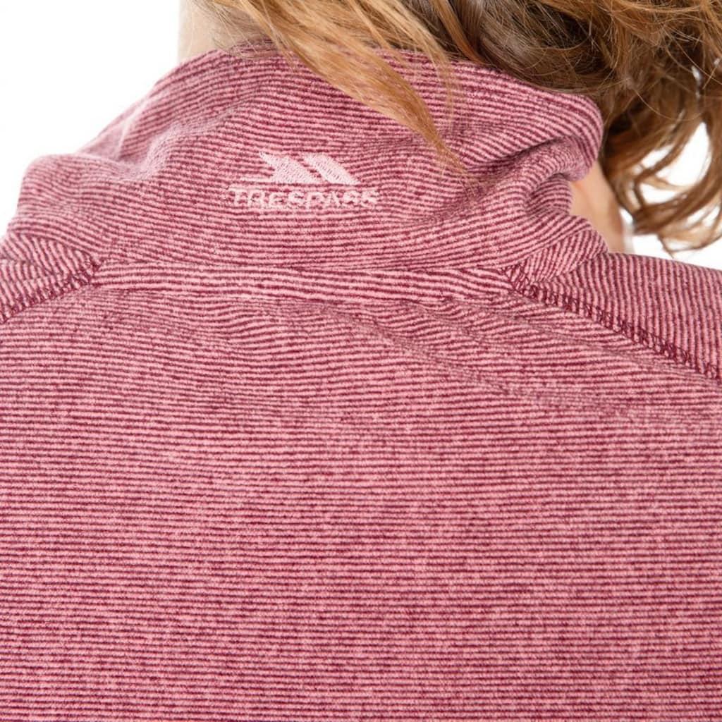 Trespass Fleeceshirt »Damen Fleece-Top Meadows mit Reißverschluss bis zur Brust«