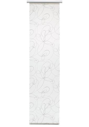 Schiebegardine, »Flächenvorhang Stoff Curling«, GARDINIA, Klettband 1 Stück kaufen