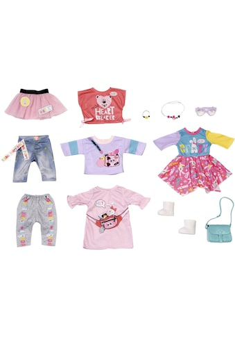 "Baby Born Puppenkleidung ""City Fashion"", (Set, 12 - tlg.) kaufen"