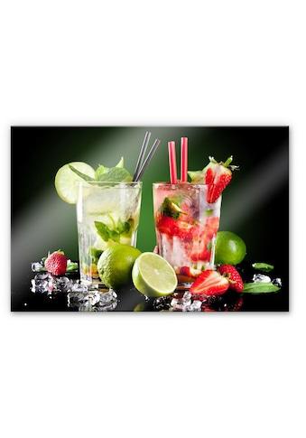 Wall-Art Küchenrückwand »3D Spritzschutz Cocktail Hour« kaufen