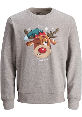 Jack & Jones Junior Sweatshirt »JORXMASGANG SWEAT CREW N« kaufen