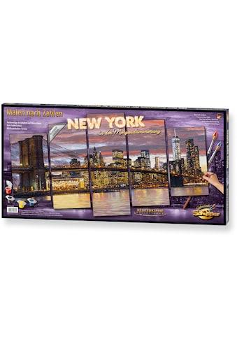 Schipper Malen nach Zahlen »Meisterklasse Polyptychon - New York Morgendämmerung«, Made in Germany kaufen
