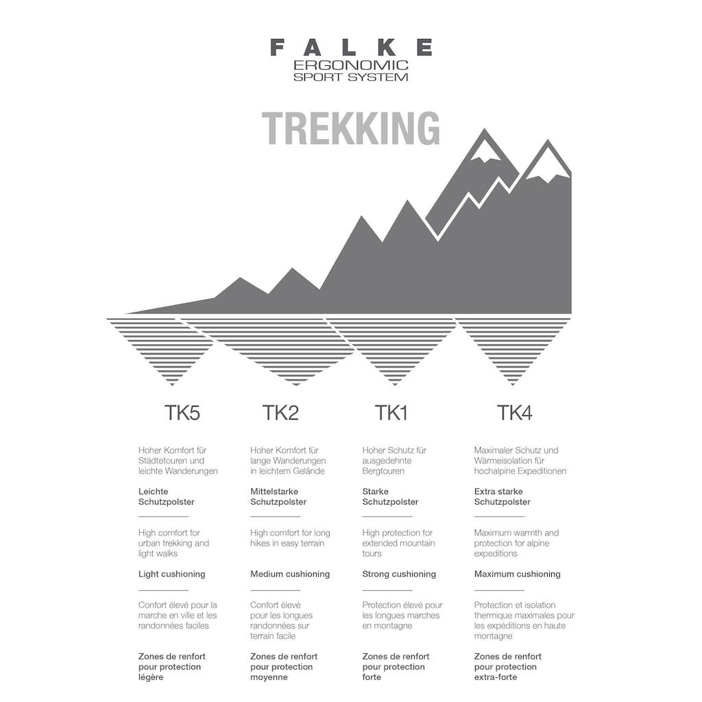FALKE Wandersocken »TK2 Trekking«, (1 Paar), bester Komfort für Wanderungen