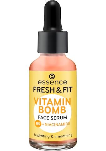 Essence Gesichtsserum »FRESH & FIT VITAMIN BOMB FACE SERUM«, (Set, 3 tlg.) kaufen