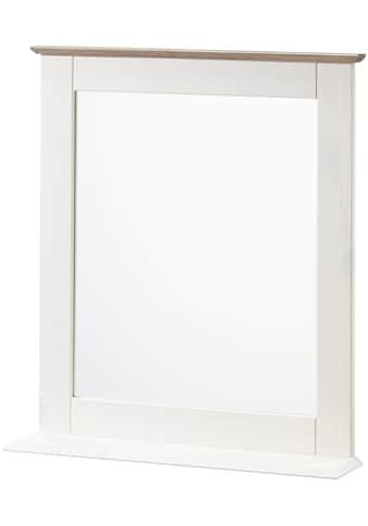 welltime Wandspiegel »Venezia Landhaus/Sund«, Breite 58 cm, aus Massivholz kaufen