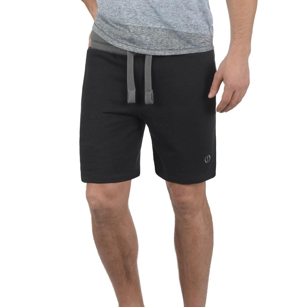 Solid Sweatshorts »Benni«, kurze Hose mit Kontrastkordeln