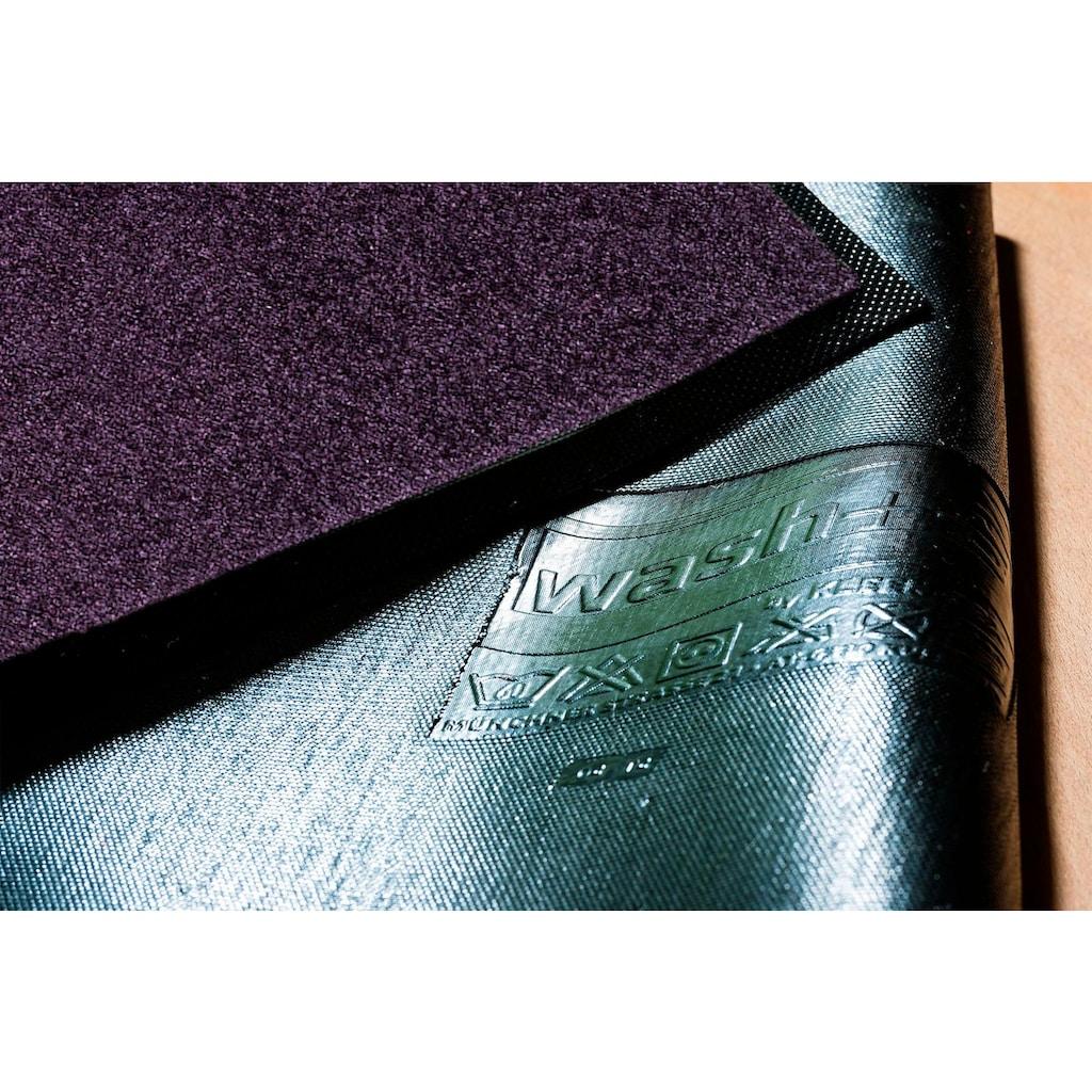 wash+dry by Kleen-Tex Läufer »Trend Uni«, rechteckig, 7 mm Höhe, Schmutzfangläufer, In- und Outdoor geeignet, waschbar