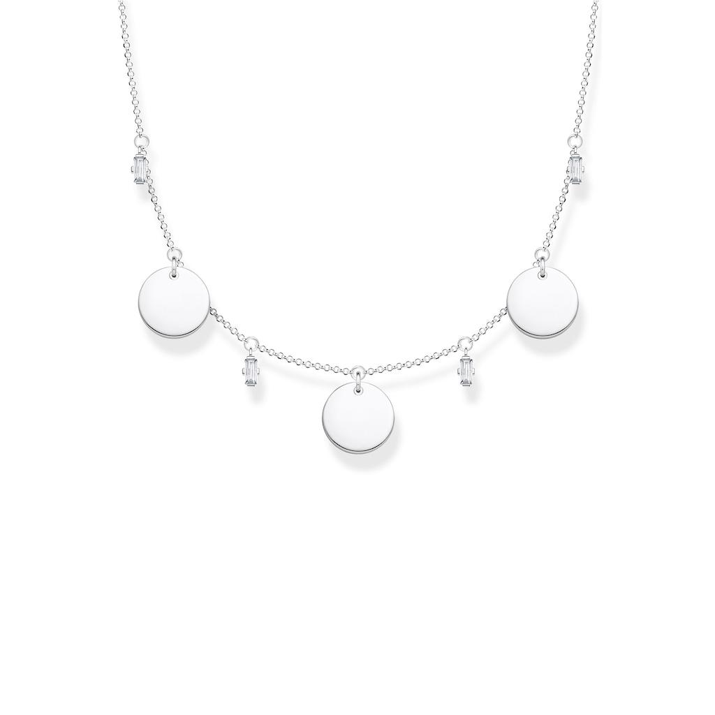 THOMAS SABO Silberkette »KE1960-051-21-L45V«, mit Zirkonia