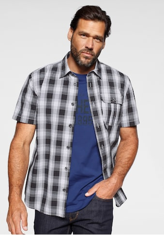 Man's World Kurzarmhemd, (Set, 2 tlg., mit T-Shirt) kaufen