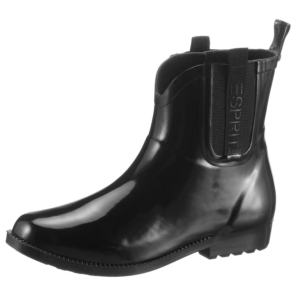 Esprit Chelseaboots »GLAS GOW RIBBON«, in typischer Schlupfform