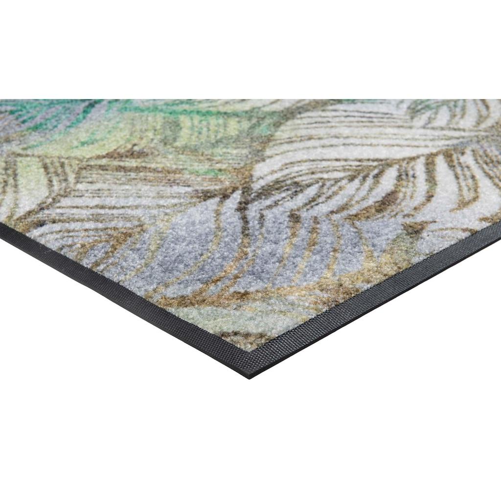 wash+dry by Kleen-Tex Teppich »Lapas«, rechteckig, 7 mm Höhe, In- und Outddor geeignet, Wohnzimmer